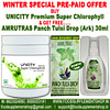 Unicity Premium Super Chlorophyll & AMRUTRAS Panch Tulsi Drop Ark 30ml
