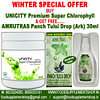 Unicity Premium Super Chlorophyll & AMRUTRAS Panch Tulsi Drop(Ark) 30ml
