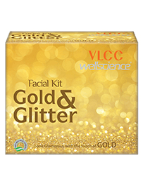 Gold & Glitter Facial Kit