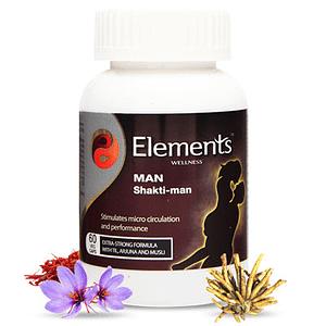 Elements WELLNESS MAN Shakti-man (60 VEG CAPS)