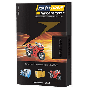 Mach drive nano energizer for two and three wheeler engines vestige