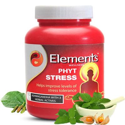 Elements WELLNESS PHYT STRESS 60 VEG CAPS