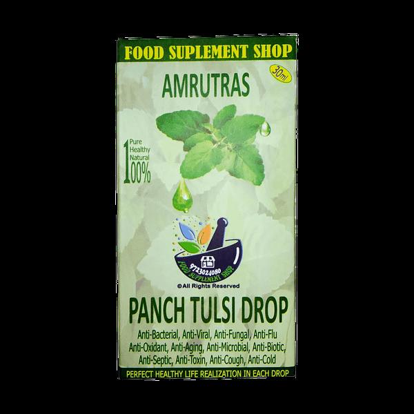 Amrutras Pach tulsi Drop ark FSSAHD 1